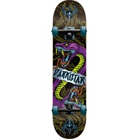 Darkstar Venom Youth Premium Complete Skateboard - Blue 7.375""