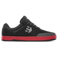 Etnies Mens Skate Shoes Marana Black Red Black