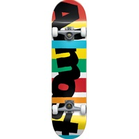 "Almost Complete Skateboard Stripe Out Youth 7.25"" Wide"