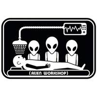 Alien Workshop - Abduction Sticker x 1