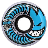 Spitfire Skateboard Wheels Charger Conical Clear 56mm 80hd