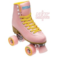 Impala Roller Skates Pink Yellow Size Womens US 4 (fits like size US 3)