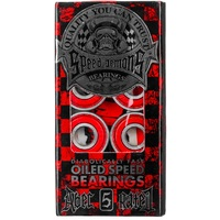 Speed Demons Oiled Skateboard Scooter Bearings 8 Pack - Abec 5