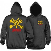 Powell Peralta Vato Rat Hoodie Extra Large Charcoal