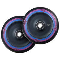Urban Artt 125mm Scooter Wheels Set Of 2 Classic Black Black Two Tone