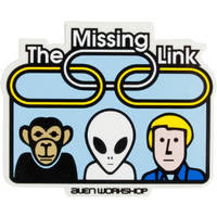 Alien Workshop Missing Link Sticker x 1
