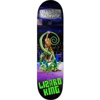 Deathwish Skateboard Deck 8.0 Lizard King Celebrity Deathwish