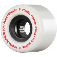 Powell Peralta Skateboard Wheels Ssf Snakes 75A 69mm White