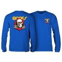 Powell Peralta Ripper Long Sleeve Royal Blue T-Shirt Youth Extra Large