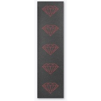 Diamond Skateboard Grip Tape Sheet 9 x 33 Brilliant Red