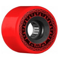 Bones Skateboard Wheels ATF Rough Riders 80A 56mm Tank Red
