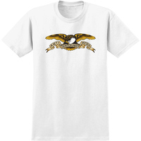 Anti Hero Youth T-Shirt Eagle Youth Small White