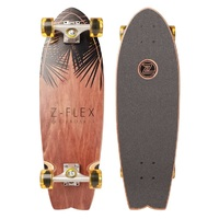 Z-Flex Complete Cruiser Skateboard Island Time Fish 27