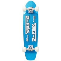 Z-Flex Cruiser Complete Skateboard Jay Adams Metalflake Blue 29