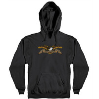 Anti Hero HD Eagle Hoodie Medium Black