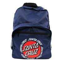 Santa Cruz Backpack Ringed Dot Navy