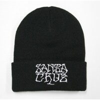 Santa Cruz Savage Beanie Black