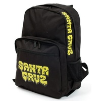 Santa Cruz Youth Backpack Melt Black