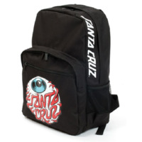 Santa Cruz Youth Backpack Eyeball Black