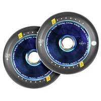 Urban Artt 110mm Scooter Wheels Set Of 2 Hollow Core V2 Neo Blue