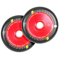 Urban Artt 110mm Scooter Wheels Set Of 2 Hollow Core V2 Red