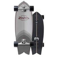 Carver Surfskate Skateboard Complete RNF Retro With Cx Trucks Silver