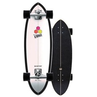 Carver Surfskate Skateboard Complete Black Beauty With Cx Trucks Silver