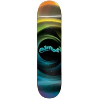 Almost Skateboard Deck Smear HYB Yellow Blue 8