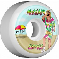 Bones Skateboard Wheels P5 McClain Beach Bum 84B 54mm
