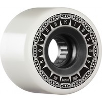 Bones Skateboard Wheels ATF Rough Riders 80A 56mm Tank White