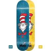 Almost Skateboard Deck Dr Seuss Cat Face Max 8