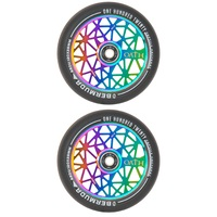 Triad Oath 120mm Bermuda Scooter Wheels Neo Chrome