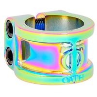 Triad Oath Scooter Double Clamp Cage Neo Chrome Oversized and Standard