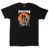 Thrasher Outlaw T-Shirt Medium Black