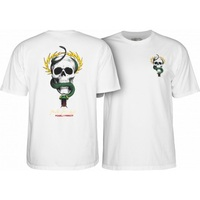 Powell Peralta Mcgill Skull & Snake T-Shirt Large White