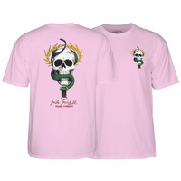 Powell Peralta Mcgill Skull & Snake T-Shirt Extra Large Pink