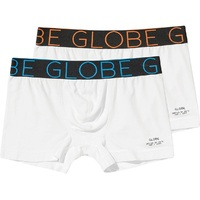 Globe Jersey Brief Large White White 2 Pack