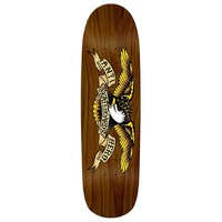 Anti Hero Skateboard Deck Shaped Eagle Brown 8.86