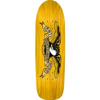 Anti Hero Skateboard Deck Shaped Eagle Yellow 9.95