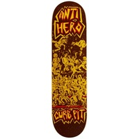 Anti Hero Skateboard Deck Team Curb Pit 8.43