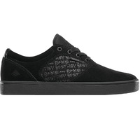 Emerica Mens Skate Shoes - Figgy Dose X Baker - Black Black