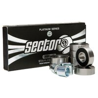 Sector 9 Platinum Bearings Abec 9 Set Of 8