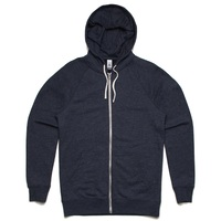 AS Colour Traction Zip Hoodie Extra Large Navy Marle