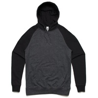 AS Colour Case Hoodie Medium Asphalt Marle Black