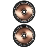 Root Industries Air 120mm Wheel Set Black Pu Coppertone Core