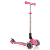 Globber Primo Foldable 3 Wheel Scooter Deep Pink