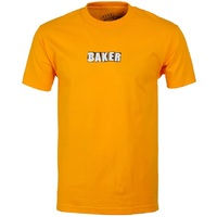 Baker Brand Logo T-Shirt Large Gold