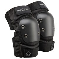 Protec Street Protective Elbow Pads Size Small Black