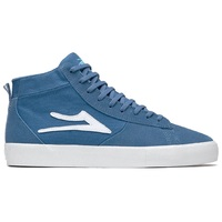 Lakai Mens Skate Shoes New Port Hi Blue Suede