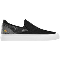 Emerica Mens Skate Shoes Wino G6 Slip On X Psockadelic Black